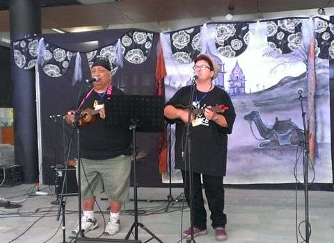 Uke'n make music at SPRUKE Festival