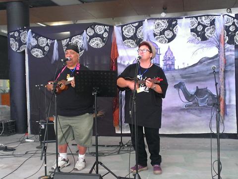 Uke'n make music at SPRUKE Festival