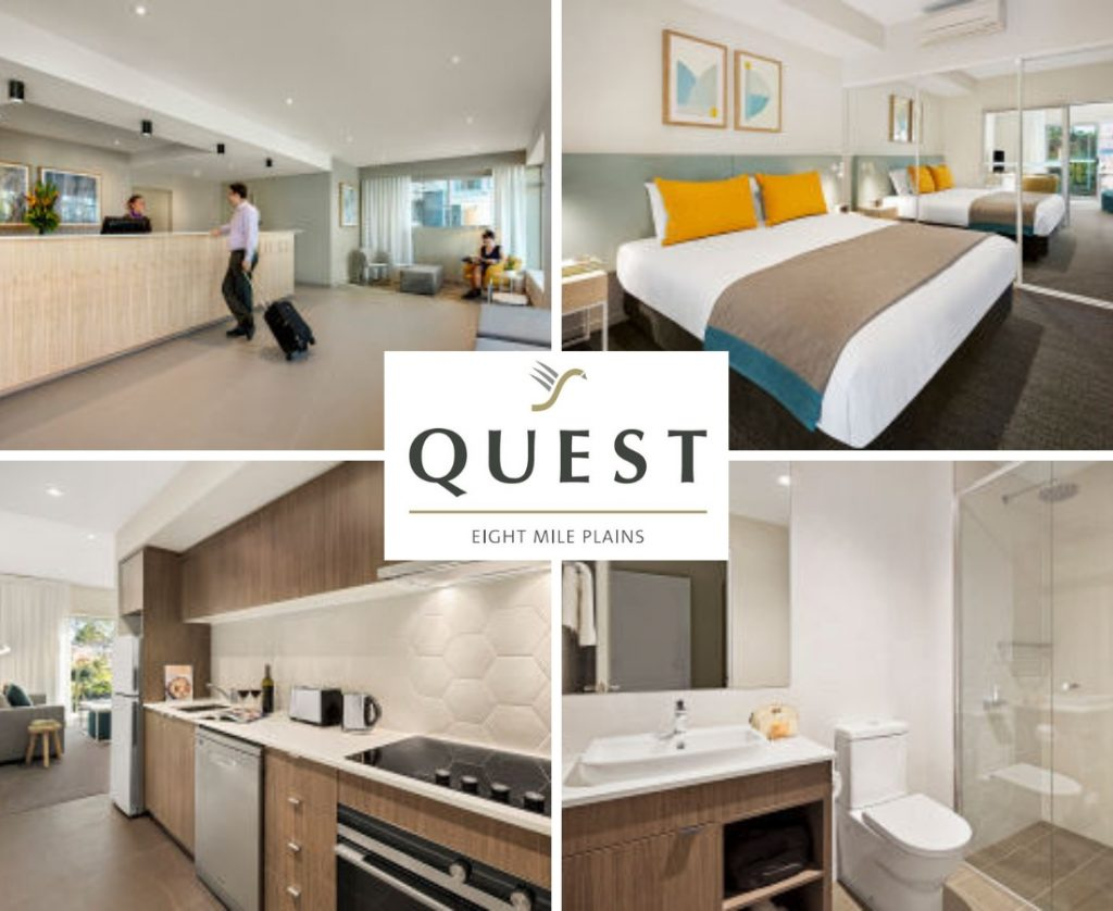 Quest Apartments are relaxed and comfortable and close to SPRUKE Festival!