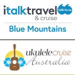 MAJOR FUNDRAISING SPONSOR Ukulele Cruise Australia and italktravel & cruise Blue Mountains