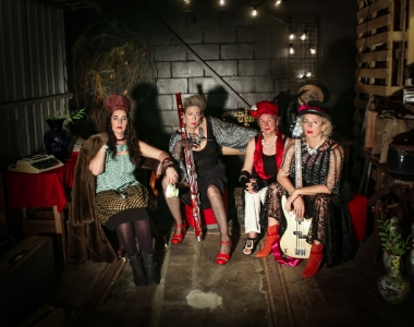 The Loveys perform at the Sprooky Cabaret Friday 13 September.